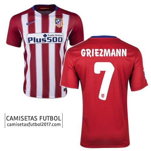Primera camiseta de Atletico de Madrid Griezmann 2015 2016 ... 02c0b89612054