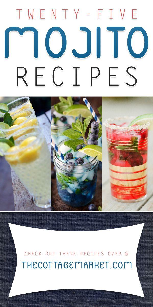 25 Magical Mojito Recipes - The Cottage Market