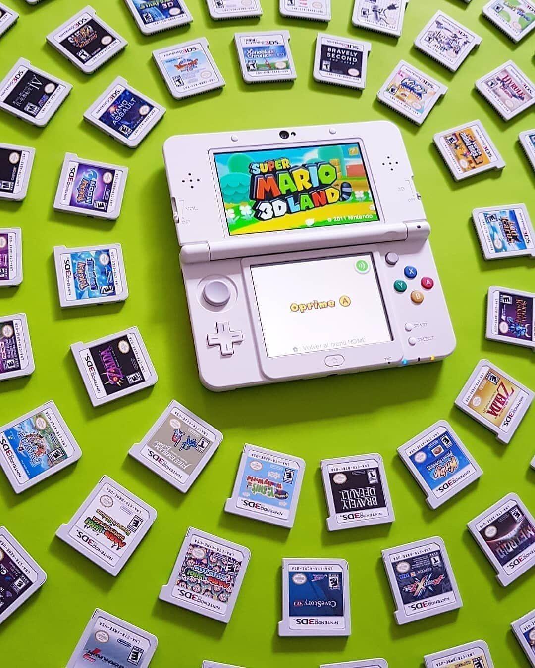 La Nintendo 3ds A été Pour Beaucoup D Entre Nous La Première Expérience Gaming Pour Ma Part J Ai Commencé I Retro Video Games Nintendo 3ds Nintendo 3ds Games