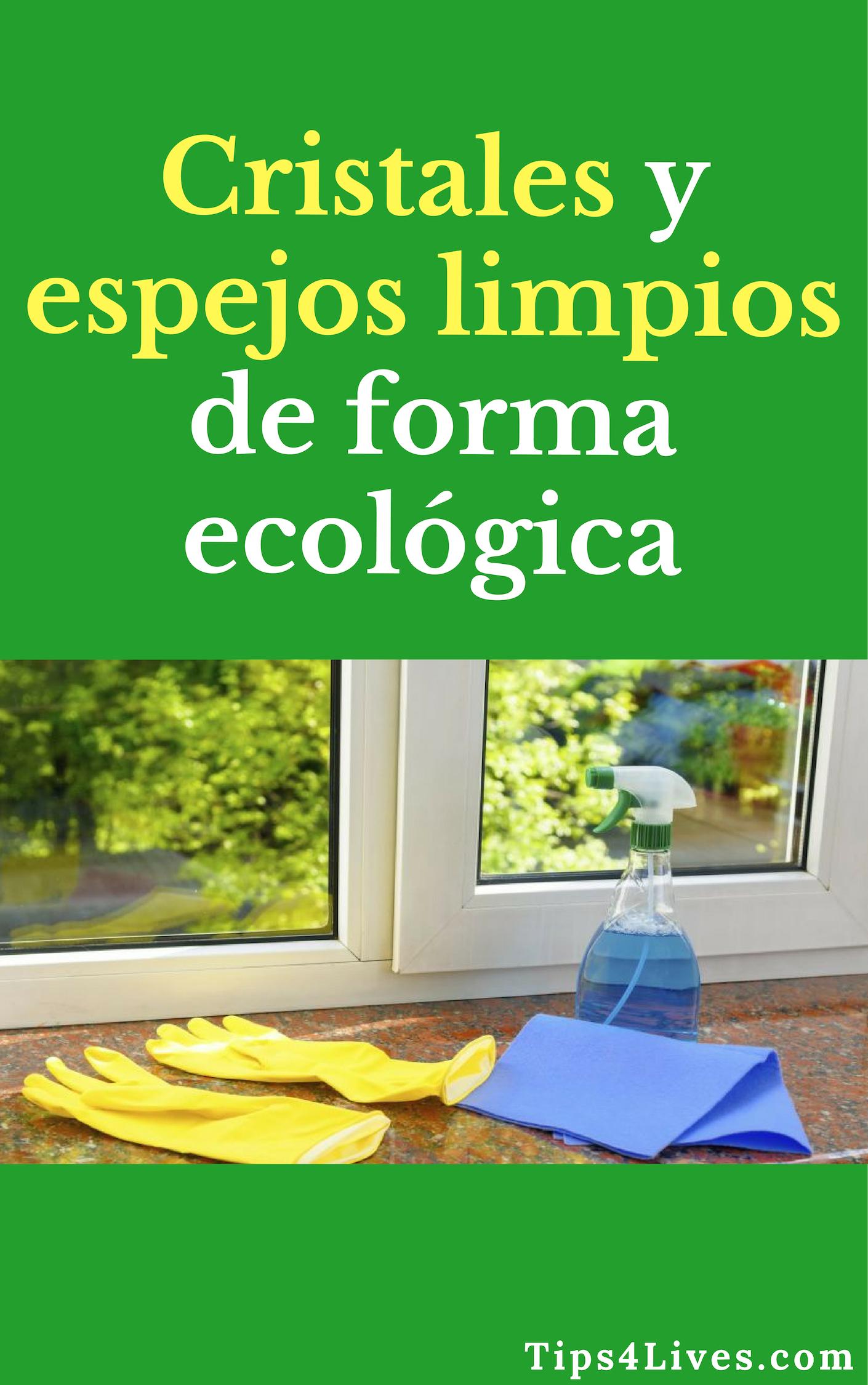 Cristales Y Espejos Limpios De Forma Ecologica Tips Life Vida Limpieza Cristales Espejos Higiene Hogar Tips4lives Diy Bienestar