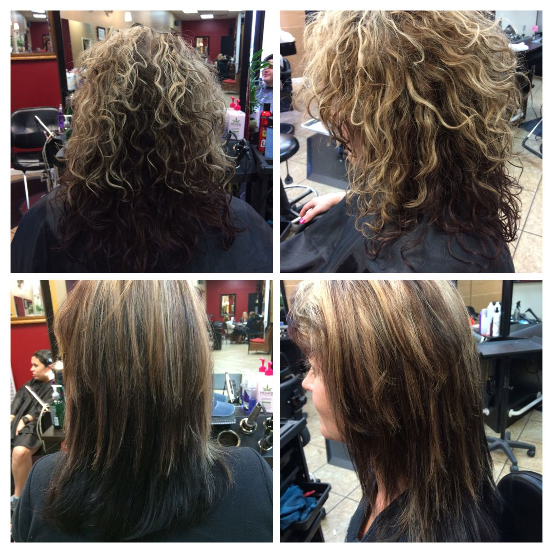 Added Some More Depth To Her Hair 4rb With 2n And 30 Vol Matrix
