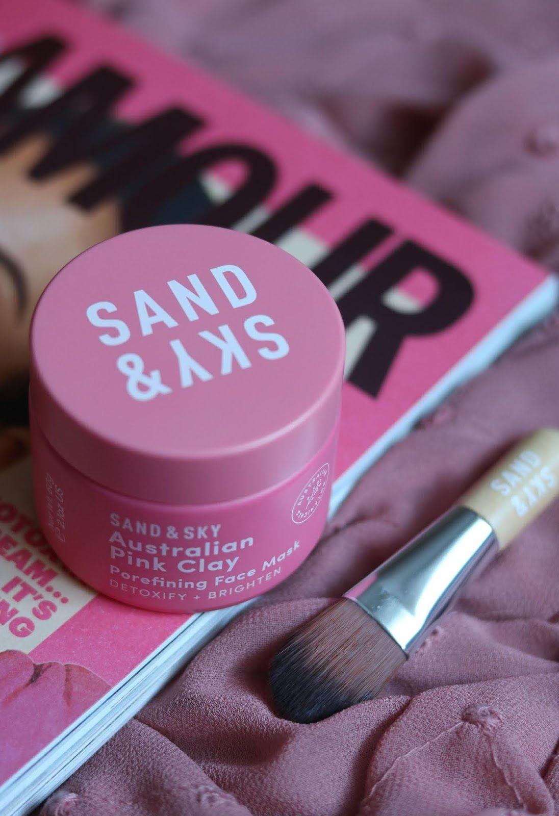 Sand & Sky Australian Pink Clay Mask Gesichtsmaske