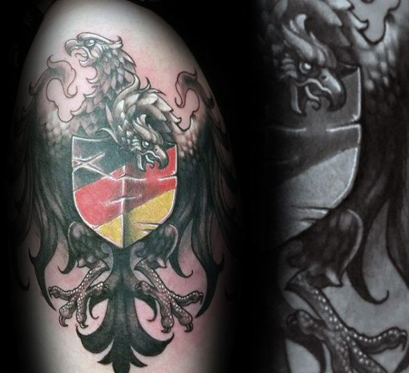 50 <b>German</b> Eagle <b>Tattoo</b> Designs For Men - <b>Germany</b> Ink Ideas ...