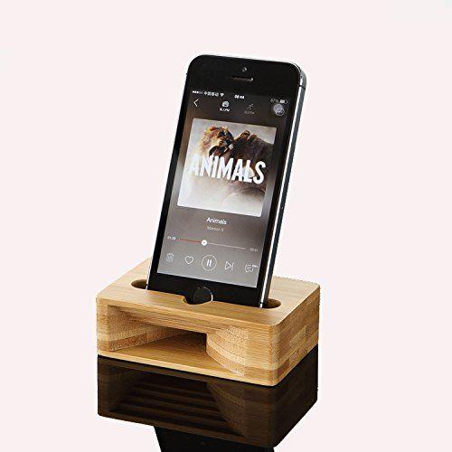 ecvision aus holz handys bambus lautsprecher 10 99 euro. Black Bedroom Furniture Sets. Home Design Ideas