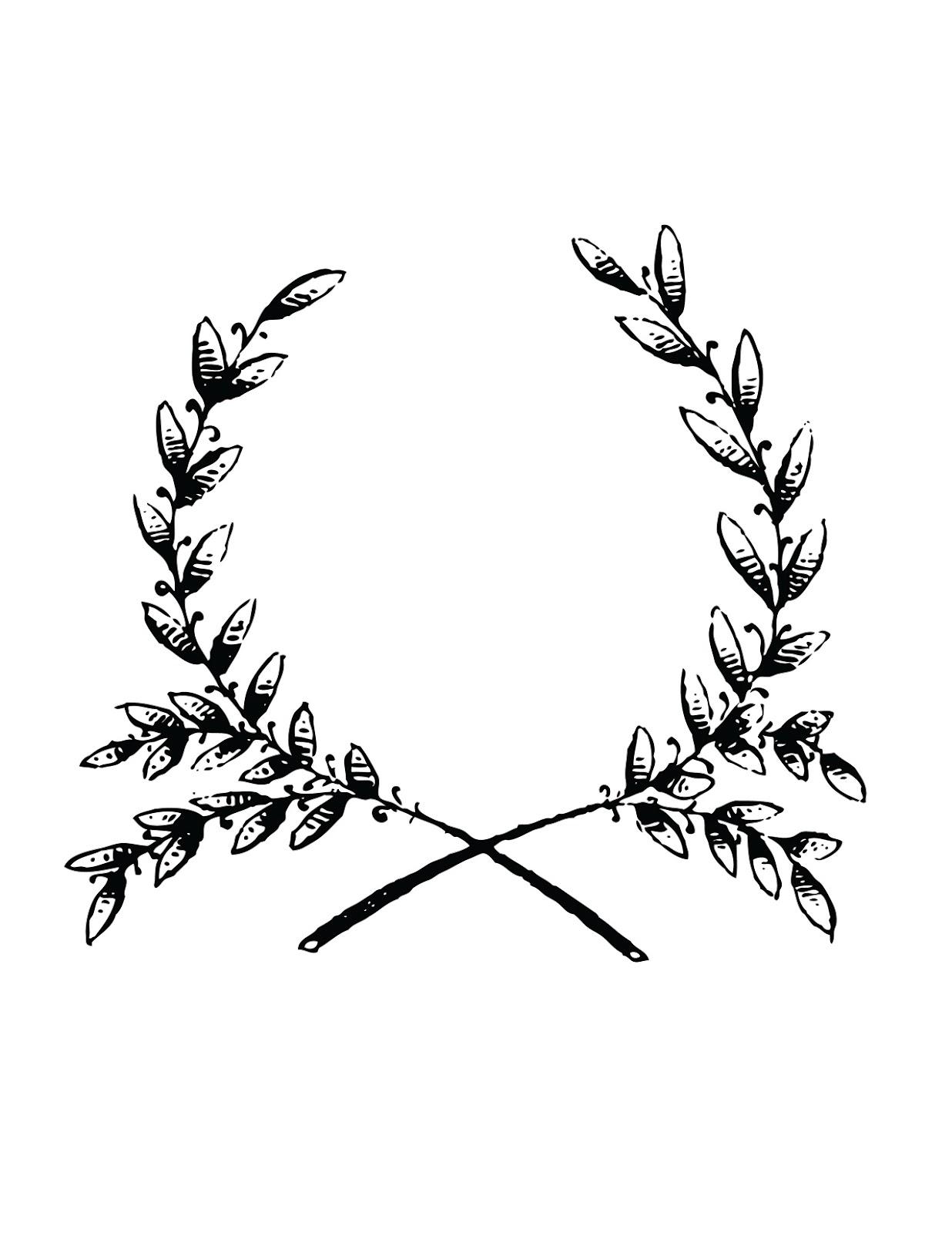 Laurel wreath More | Art | Pinterest | Tatuajes, Bordado y Tatoo