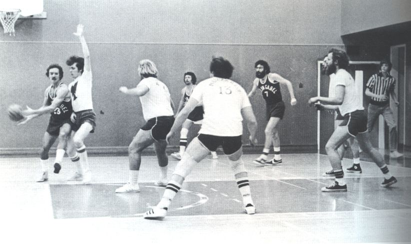 Basketball 1977 Basketball Basketball Court Wrestling