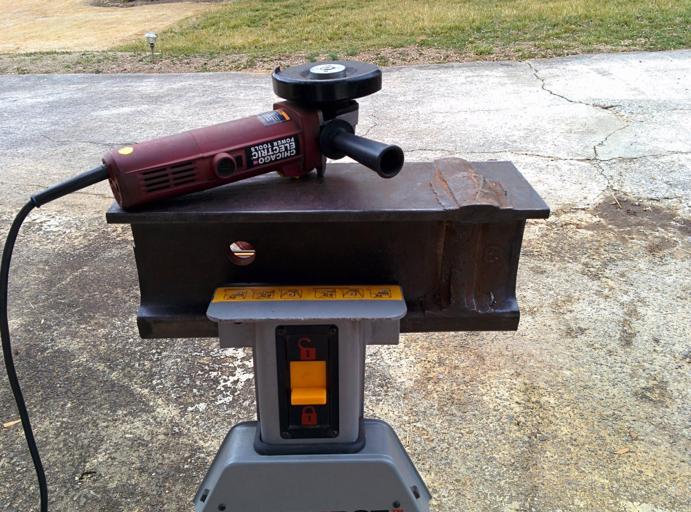 homemade forge and anvil homemade forge blacksmithing and weapons