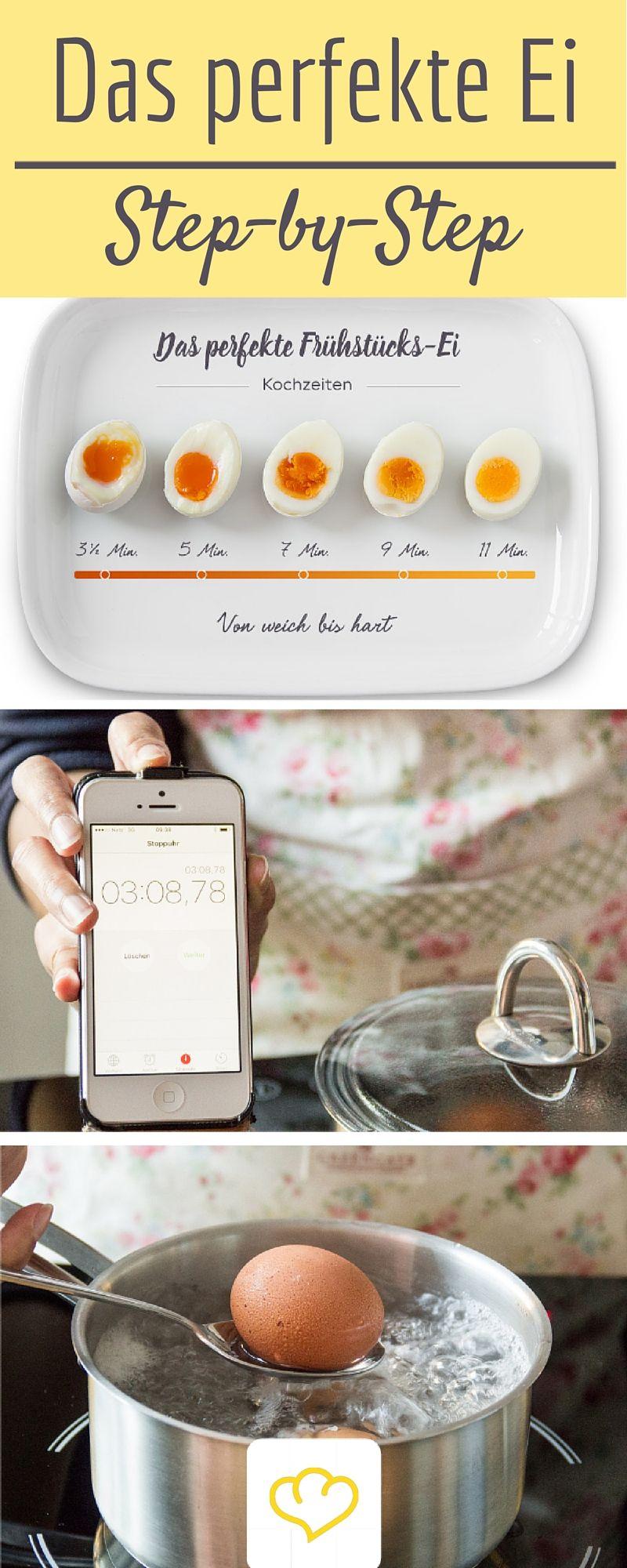 Eier kochen: Diese 9 Dinge solltest du beachten #cookingtips