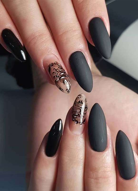 Modern Nails And Spa: Cutest Modern Nail Arts & Images To Create In 2019