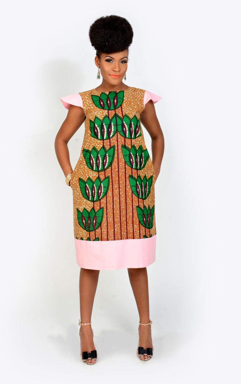 Anaya dress kaela kay african fashion ankara kitenge african