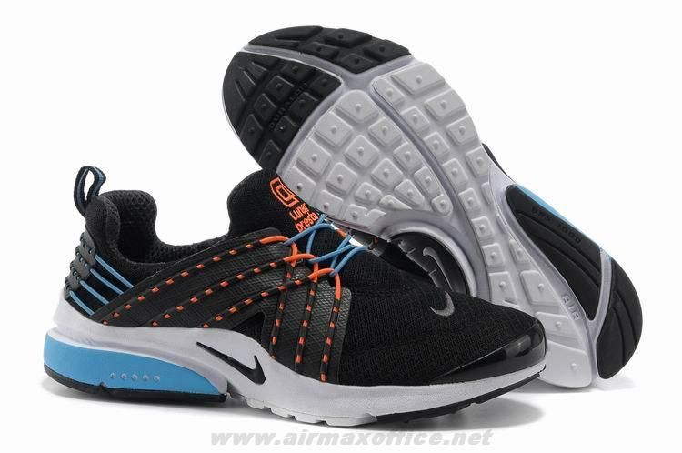 premium selection 1effa a856c Cheap Black Blue White Orange Nike Air Presto 6.0 579915-009 Men