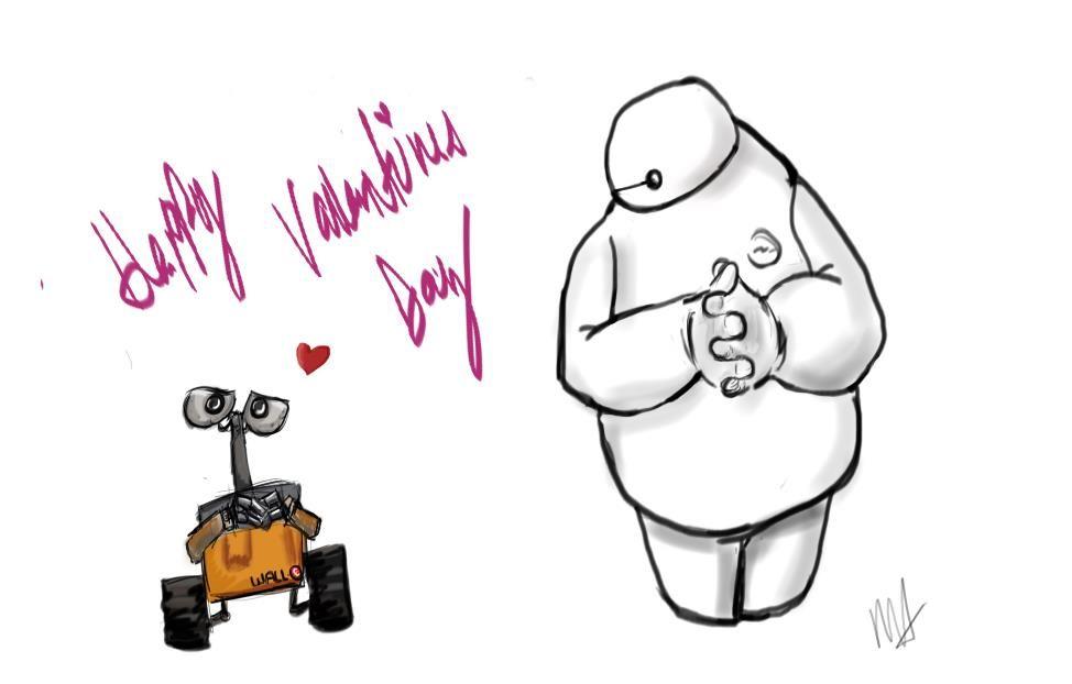 Valentines Robots1 by ToothpickPrisonBars.deviantart.com on @DeviantArt