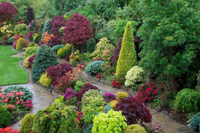 Four Seasons Garden The Most Beautiful Home Gardens In World Scenery Free Wallpapers