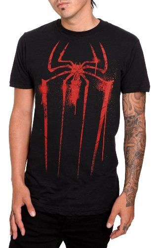 72b37283e66 Amazon.com: Marvel The Amazing Spider-Man Spray Paint T-Shirt 2XL: Clothing  $22.50