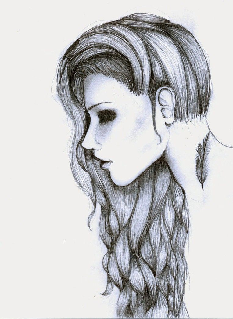 Image Result For Hipster Drawing Ideas Tumblr Teikna - Hairstyle drawing tumblr