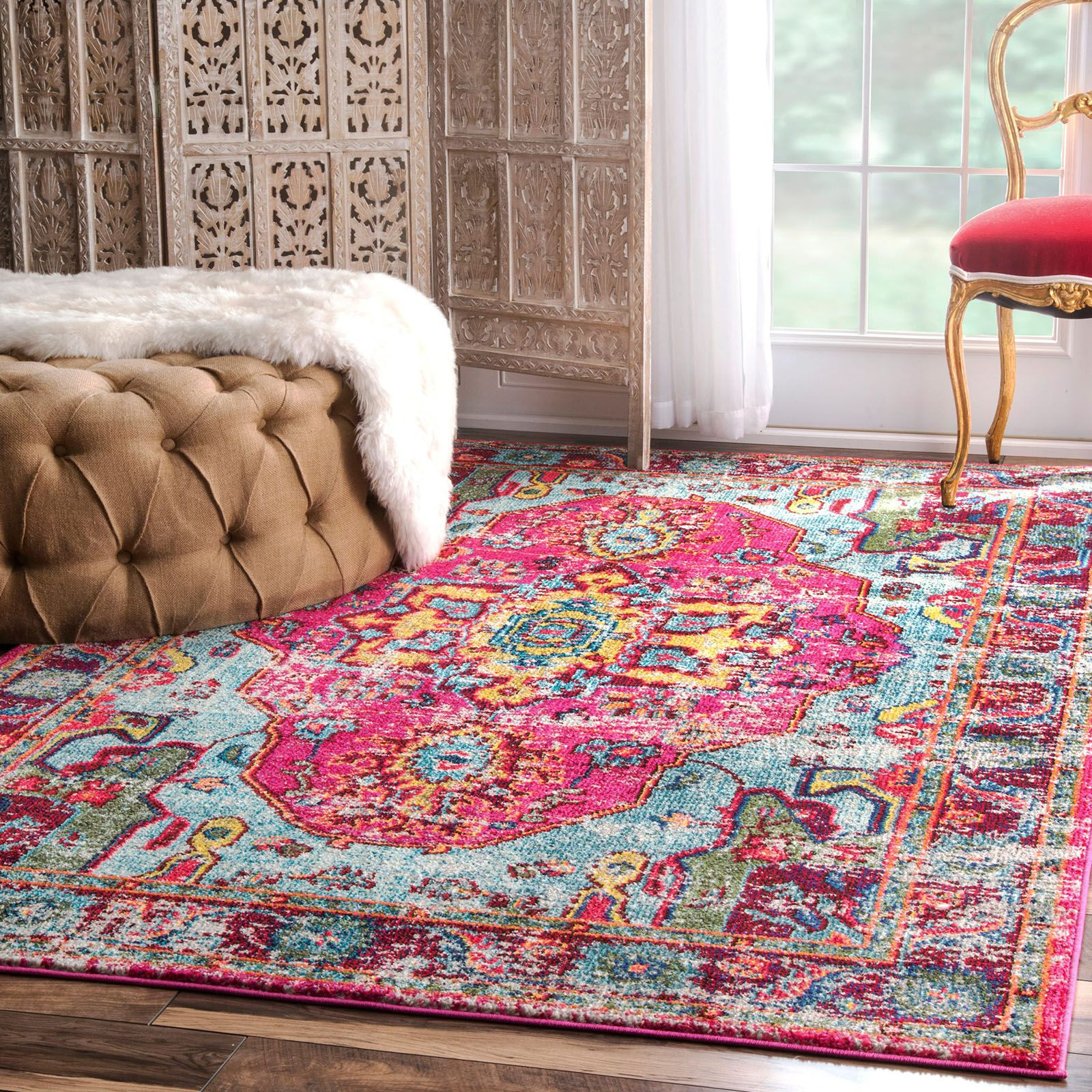 Pin By Hayneedle On Shop The Look Cool Rugs Contemporary Area