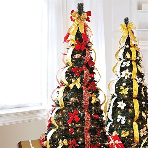 brylanehome flat to fabulous fully decorated christmas tree