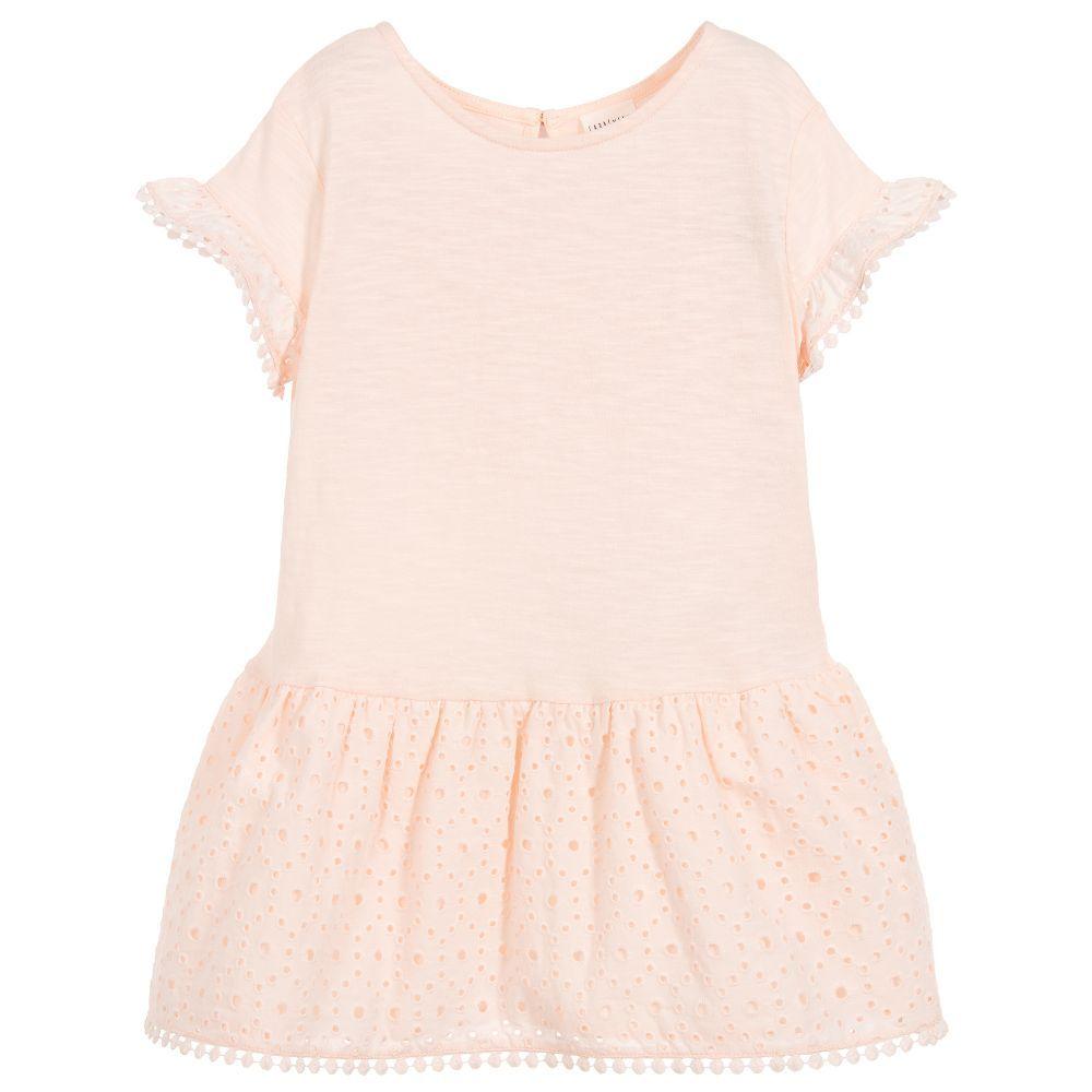 8baa6307d Girls Pink Cotton Dress