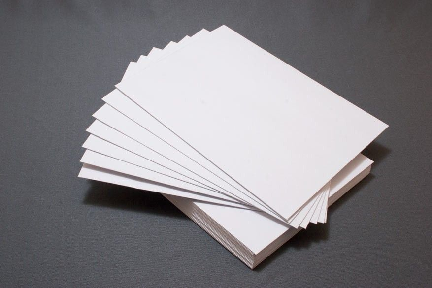 A2 flat paper white descriptives pinterest for Kitchen cabinets lowes with pliage papier facile