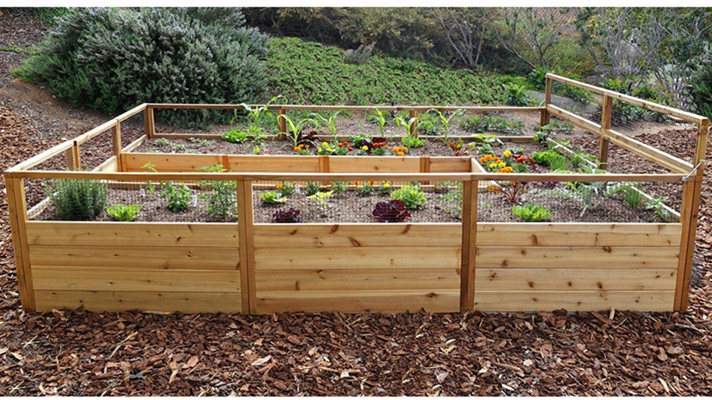 21 Raised Garden Bed Kits - Ultimate Buying Guide | Cedar raised ...