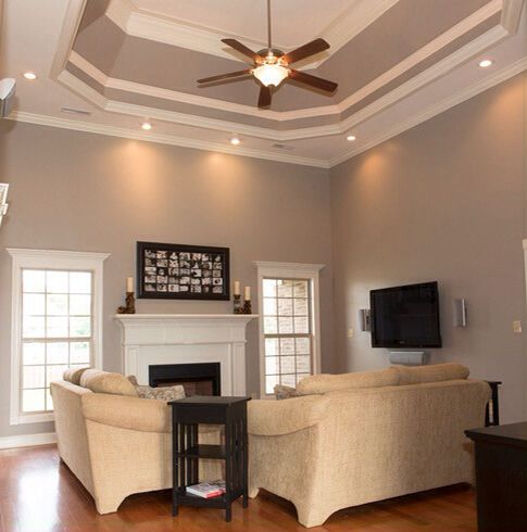 Walls painted perfect taupe by behr paint colors What color to paint living room walls