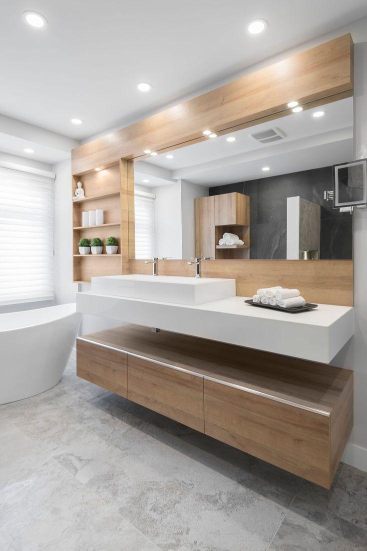 Salle de bain contemporaine – Laval | Inspirations | La Pièce