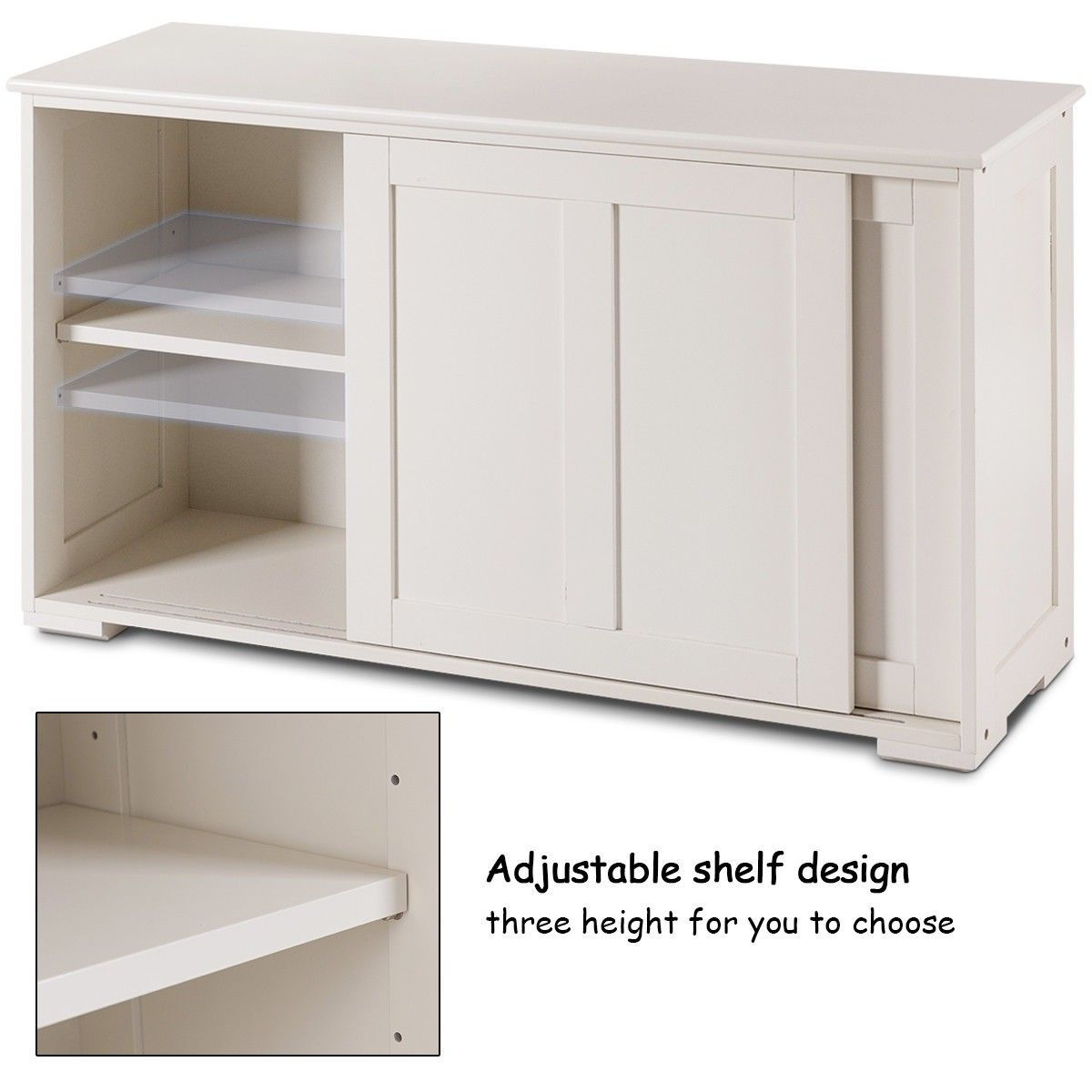 Kitchen Storage Cupboard Cabinet With Sliding Door Cupboard Storage Sideboard Storage Kitchen Cabinet Storage