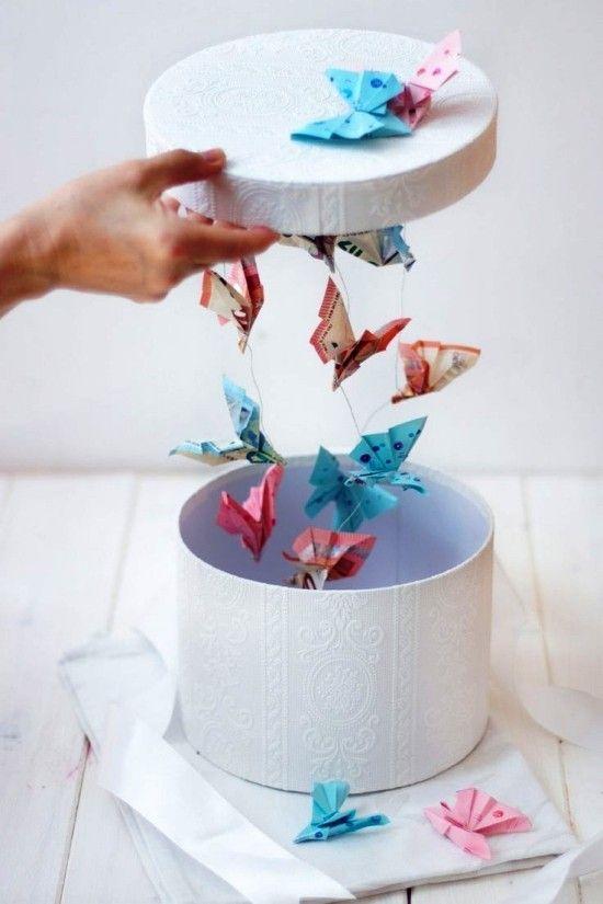 Pfiffige und praktische Geldgeschenke basteln #geschenkboxbasteln