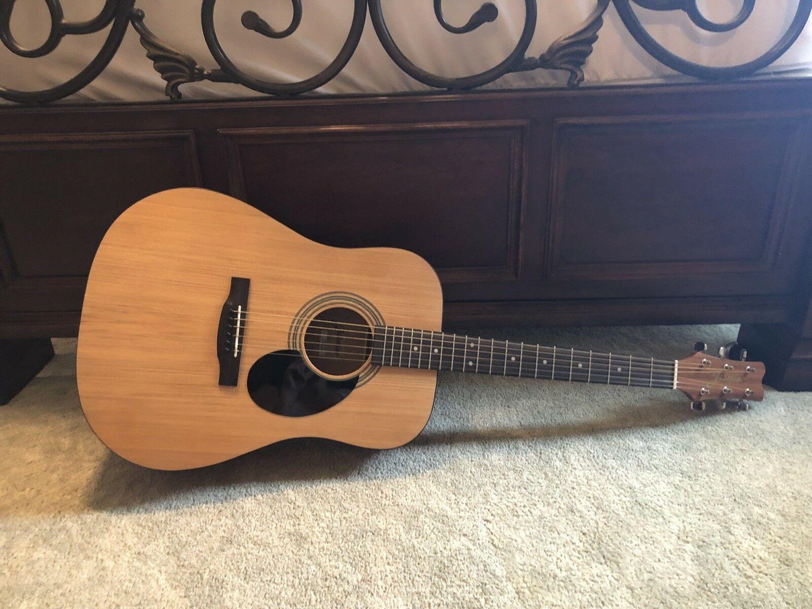 Details About Jasmine Dreadnought S35 Acoustic Guitar Guitar Acoustic Guitar Case Acoustic