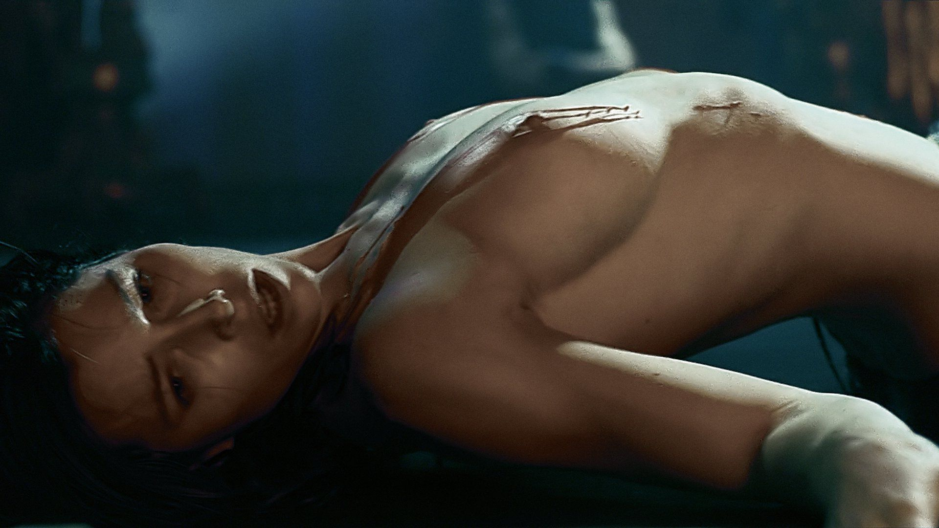 Jessica Biel Getting Naked, Which Is Unremarkable For An Actress But You Want To Look All The Same