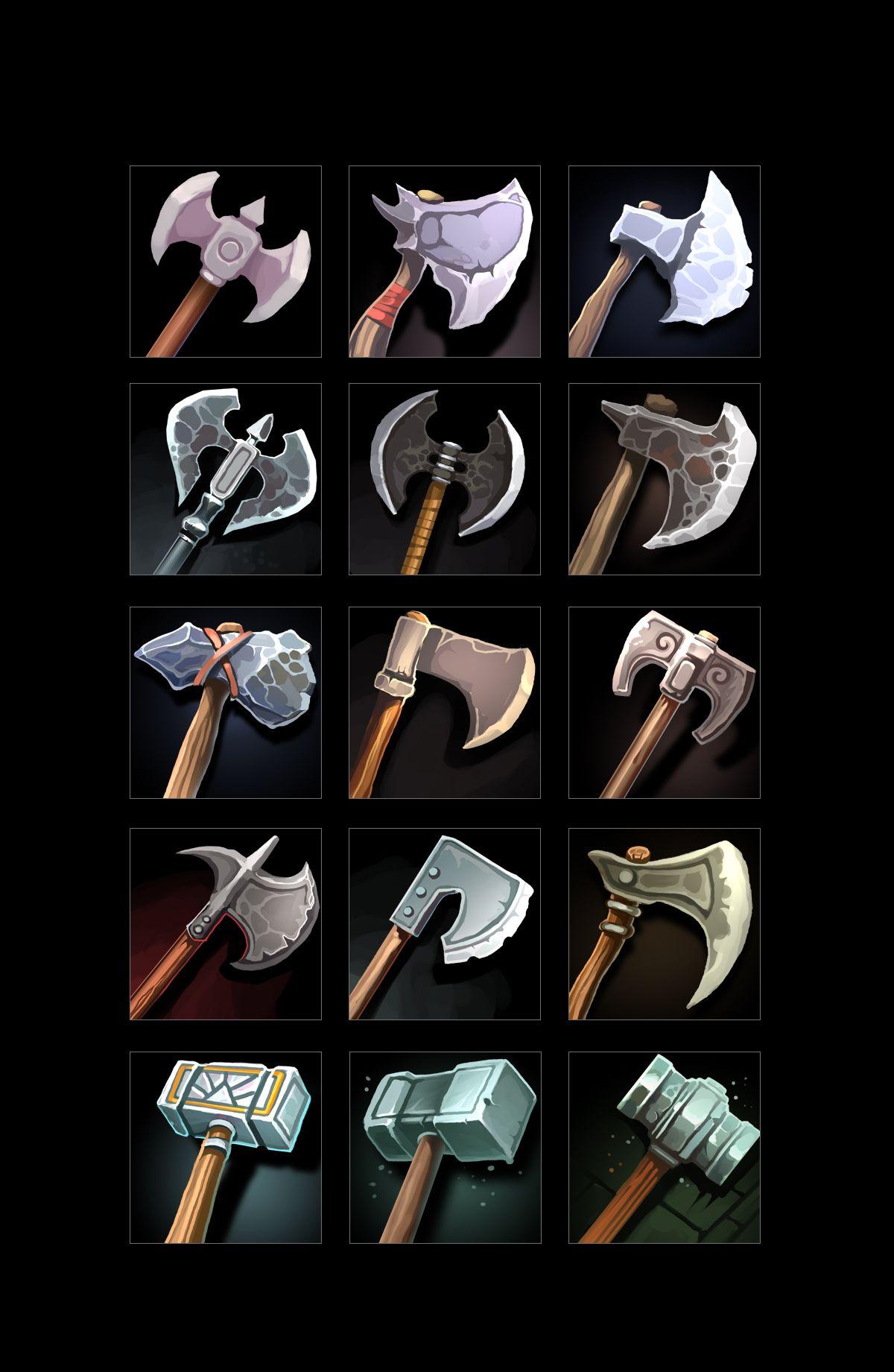 RPG Weapon Icons 2020 게임 아이콘, 아이콘, 게임