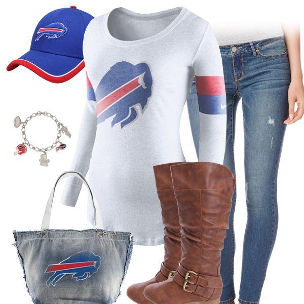 info for 14faf fc11f Cute Buffalo Bills Fan Outfit | Buffalo Bills Fashion, Style ...