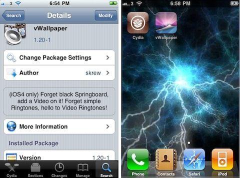Live Wallpapers On Your Iphone Ipad With Jailbreak Tweak