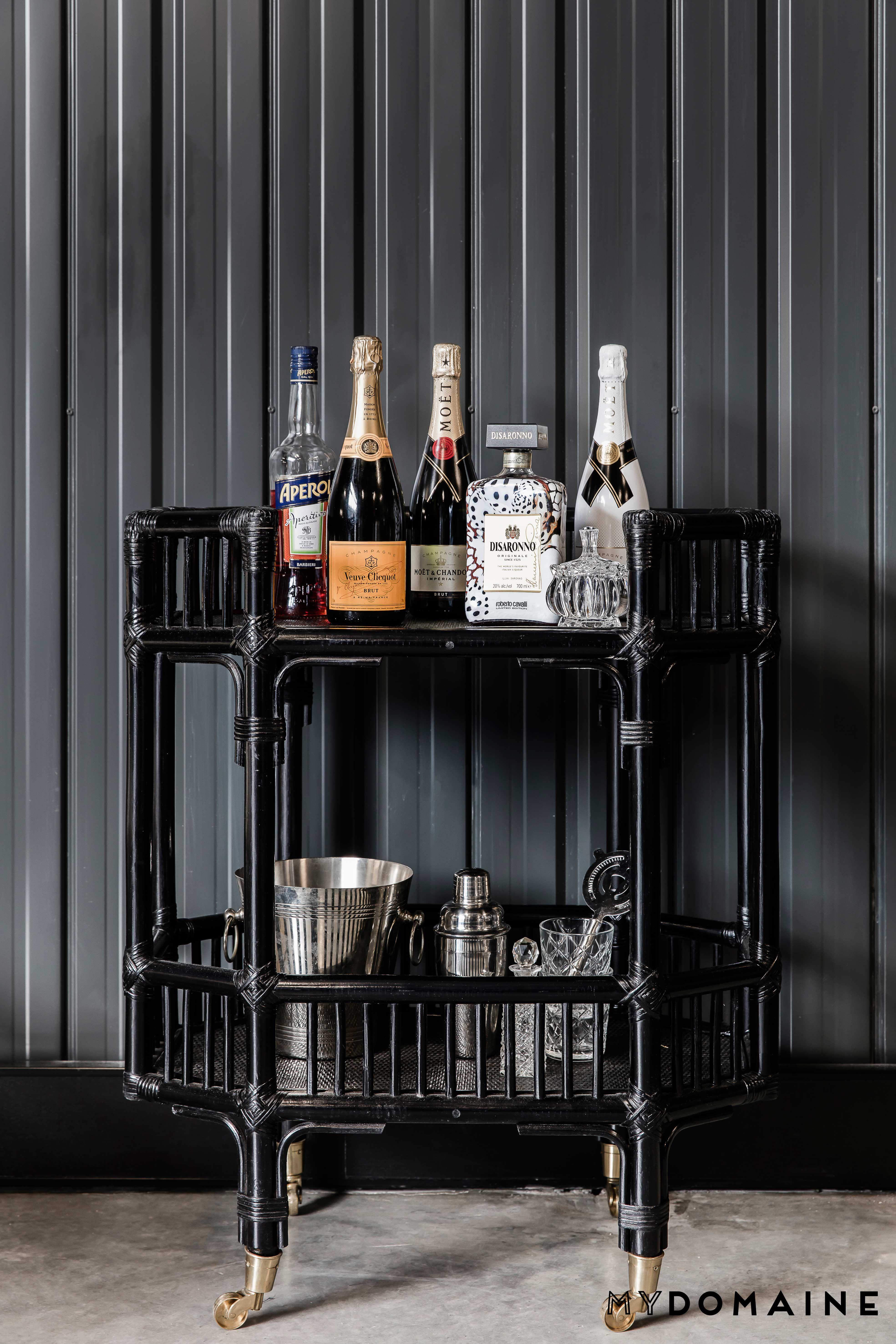 Bar Cart Decor
