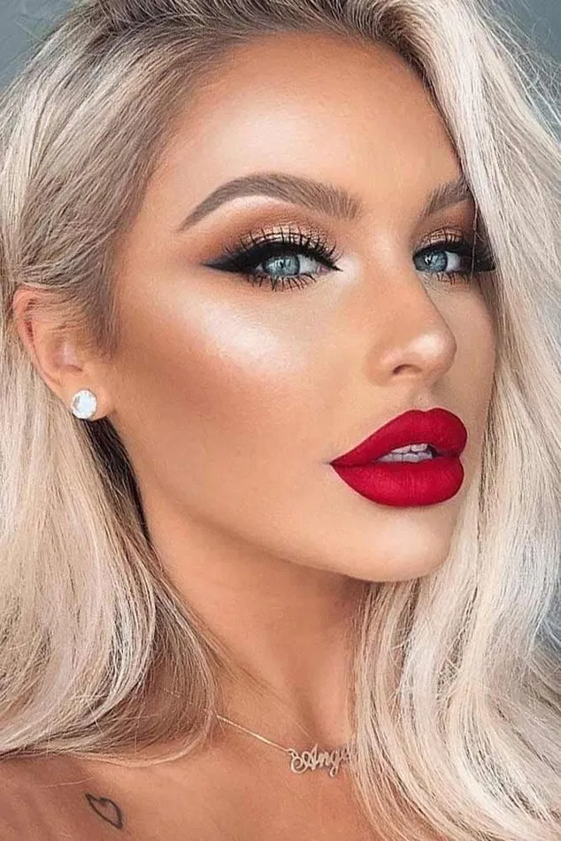 148+ red lipstick looks get ready for a new kind of magic