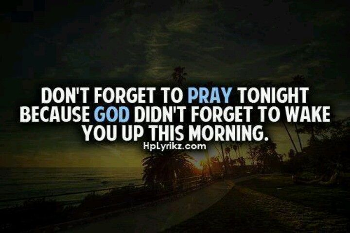 Praying is so important!!