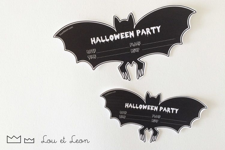 Invitation For Halloween Party To Download By Lou Et Leon