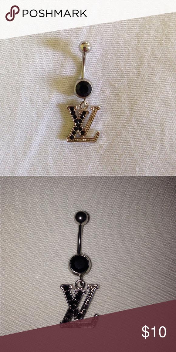 New Louis Vuitton Belly Button Jewlery Brand New Louis Vuitton Belly