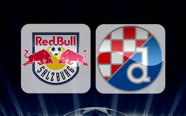 Red Bull Salzburg Vs Dinamo Zagreb Uefa Champions League Play Off Match Red Bull Salzburg Zagreb