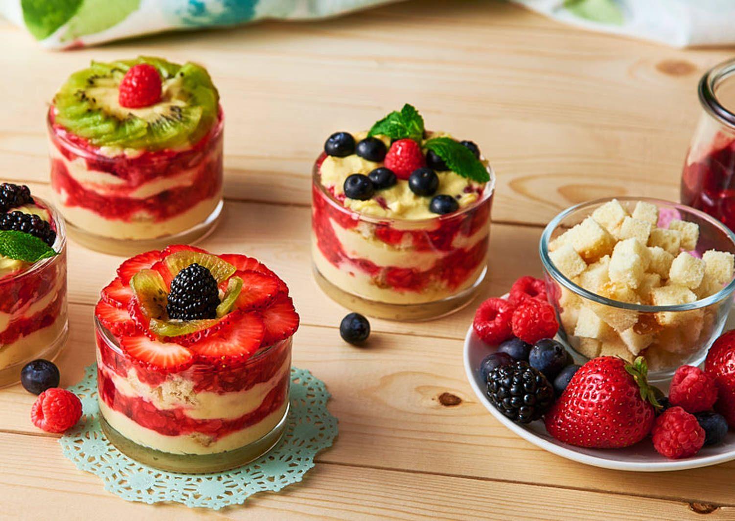 Photo of Trifle con Frutas Receta de V&V Supremo®