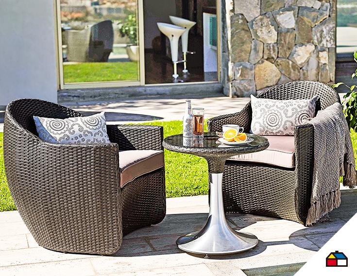 un juego de terraza ideal para disfrutar de la primavera