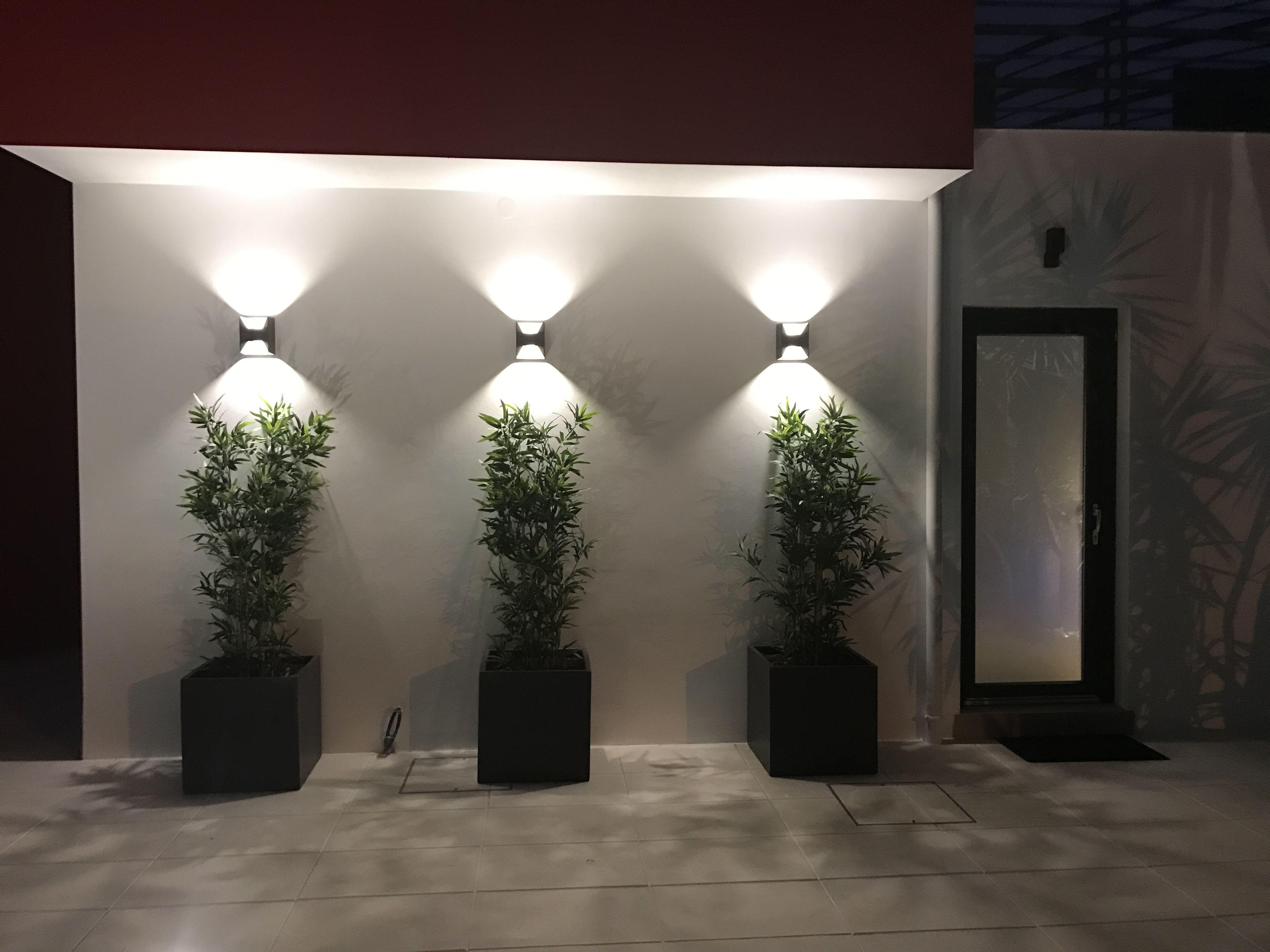 Ideia Boa Exterior Wall Design Landscape Lighting Design Wall Design