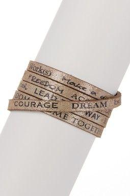 Wrap Around RV Bracelet