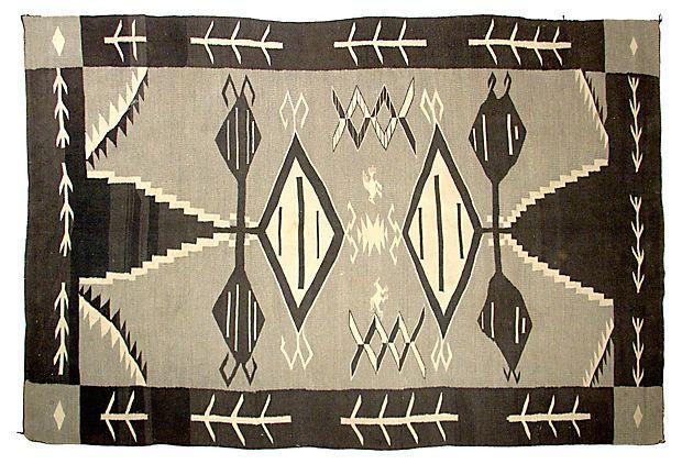 "Navajo Rug, 8'2"" x  5'10"" on OneKingsLane.com"