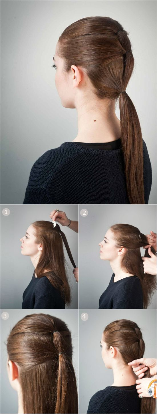 5 Easy Hairstyle Tutorials With Simplicity Hair Extensions