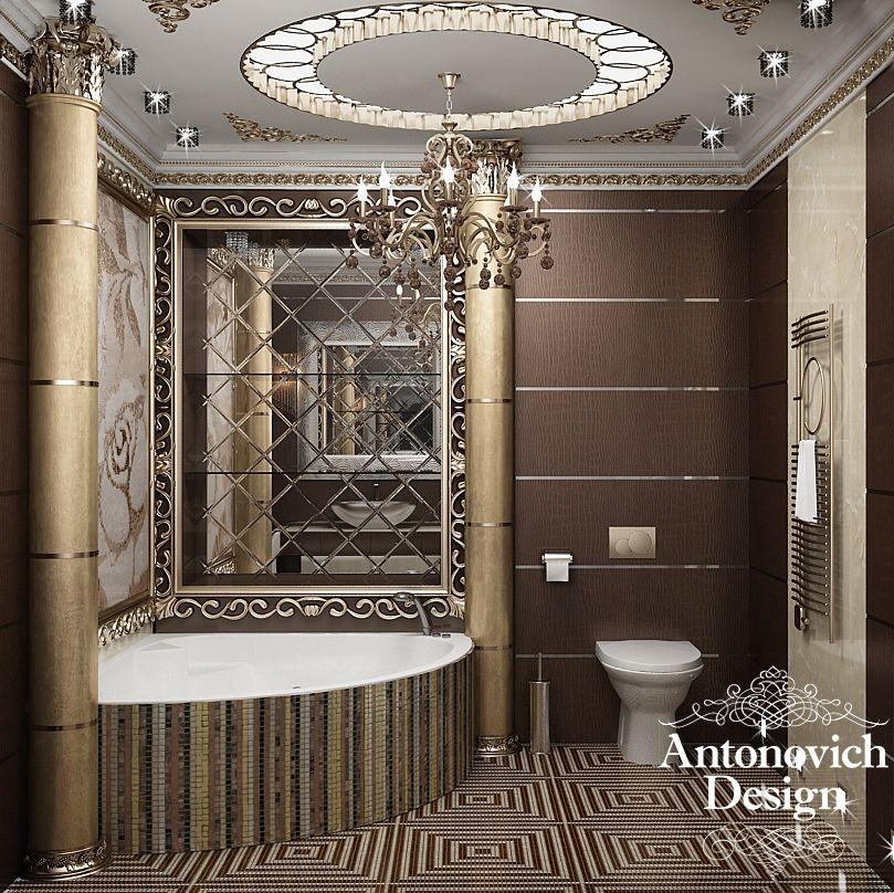 Luxury Home Interiors Bathroom: Luxury Antonovich Design