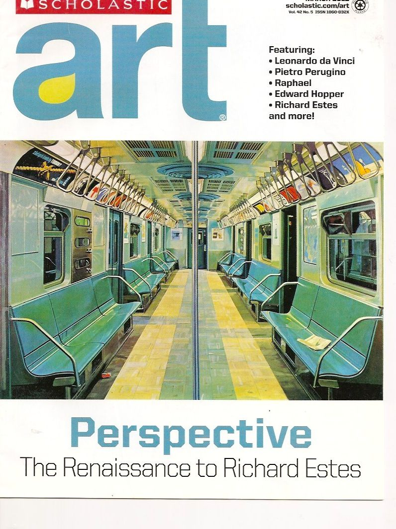 Scholastic Art, March 2012 Vol 42 No 5, Perspective The Renaissance ...