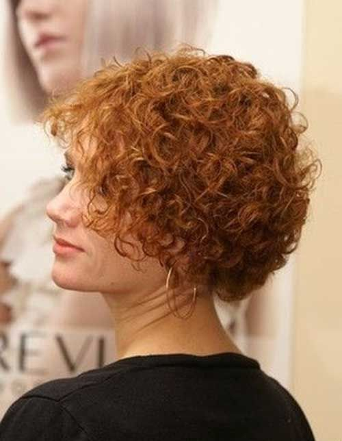 Permed hair styles are very cute and easy to maintain Description from short