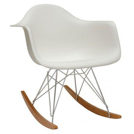 Chaise A Bascule Rar Blanc Vitra Chaise A Bascule Chaise A Bascule Eames Eames