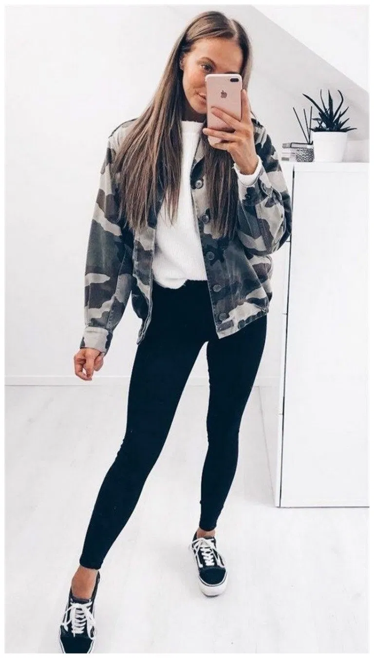 45+ best winter outfits ideas for women 35 » Home in Fashion